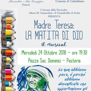 Musical: Madre Teresa la Matita di Dio