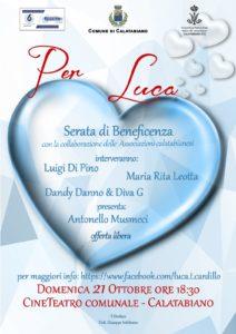 Beneficenza per Luca