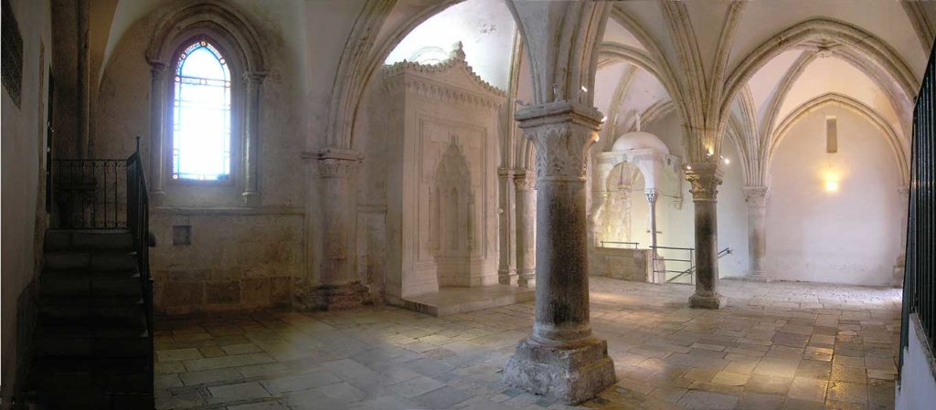 Interno Cenacolo di Gerusalemme