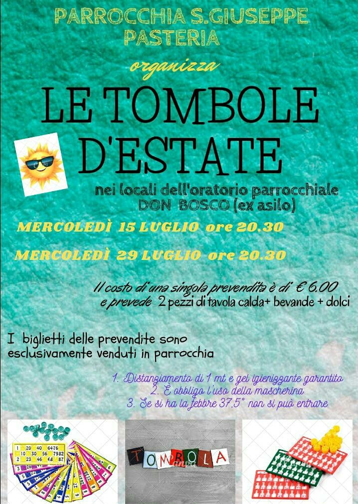 Le tombole d'estate