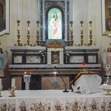 Preghiera della comunità di Pasteria a P.Cingari