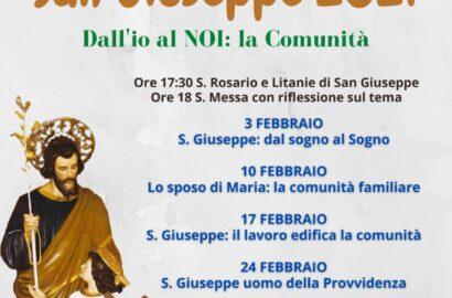 I 7 mercoledì di San Giuseppe 2021
